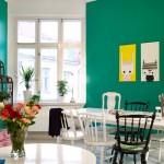 O verde-esmeralda combina com uma estética vintage. (Foto:Divulgação)