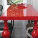 Os móveis em laca podem ser encontrados em várias cores. (Foto:Divulgação)