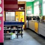 O colorido pode ser trabalhado através dos móveis, acessórios, eletrodomésticos e revestimentos. (Foto:Divulgação)