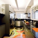 Uma cozinha alegre e divertida. (Foto:Divulgação)