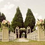 Casamento realizado em um belo jardim. (Foto:Divulgação)