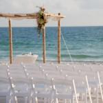 Casamento na praia. (Foto:Divulgação)