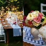 O casamento ao ar livre combina com uma decoração rústica e romântica. (Foto:Divulgação)