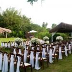 Decoração de casamento simples ao ar livre: dicas
