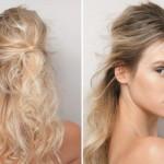 Os penteados bagunçados podem dar mais volume aos cabelos. (Foto: divulgação)