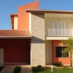 Use cores que você gosta na fachada da sua casa (Foto: Divulgação)