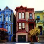 Casas coloridas de São Francisco, nos EUA. (Foto:Divulgação)