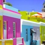 As cores vibrantes deixam as casas personalizadas e alegres.  (Foto:Divulgação)