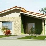 Vários modelos de fachadas podem ser criados. (Foto: divulgação)