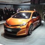 O Toyota Corolla Furia Concept servirá de base para o lançamento da nova geração do sedã (Foto: Divulgação)