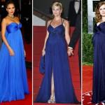 Mulheres grávidas de azul (Foto: Divulgação)