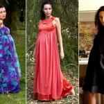 Modelos de vestidos para grávidas (Foto: Divulgalção)