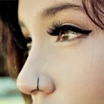 Modelo de piercing para o nariz, em argola lateral (Foto: Divulgação)