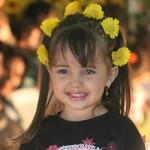 Os penteados infantis 2013 estão entre as tendências da moda. (Foto: divulgação)