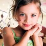 Penteados infantis femininos 2013. (Foto: divulgação)