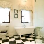 A banheira vitoriana é uma opção clássica. (Foto:Divulgação)