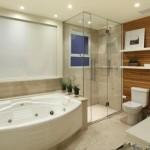 Banheira moderna e funcional. (Foto:Divulgação)