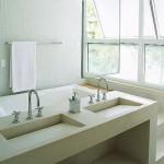 A banheira deixa  o banheiro mais sofisticado. (Foto:Divulgação)