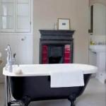 A banheira vitoriana tem linhas arredondadas. (Foto:Divulgação)
