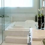 Banheira para tomar um banho relaxante. (Foto:Divulgação)