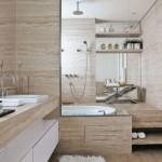 Modelo de banheira moderna. (Foto:Divulgação)