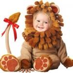 A roupa de leão para bebês é muito fofa. (Foto: divulgação)