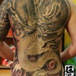 Tatuagem gigante de dragão (Foto: Divulgação)