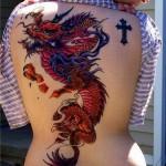 Tatuagem de dragão bem feita (Foto: Divulgação)