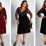 Os vestidos plus size de renda estão entre as tendências da moda atual. (Foto: divulgação)