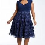 Os vestidos plus size de renda podem ser encontrados em vários estilos. (Foto: divulgação)
