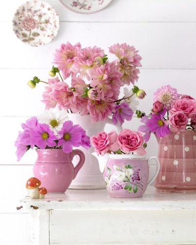 Flores sempre alegram qualquer ambiente e dão outra cara à decoração (Foto: Divulgação)