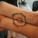 Aposte nas tatuagens para casais. (Foto: divulgação)