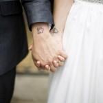 Vários modelos de tatuagens para casais podem ser feitos. (Foto: divulgação)