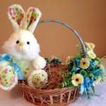 Decore a cesta feminina com flores. (Foto: Divulgação)