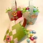 Cestas para mini-ovos. (Foto: Divulgação)