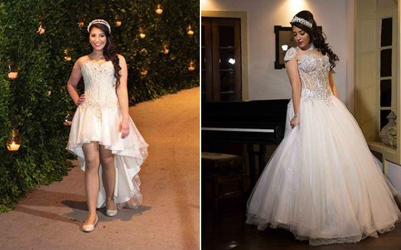 Vestidos de 15 anos tendências 2015 moda  15