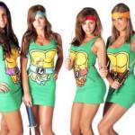 Tartarugas Ninjas versão feminina. (Foto:Divulgação)