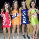 Coca, Fanta, Pepsi e Guaraná Antártica. (Foto:Divulgação)