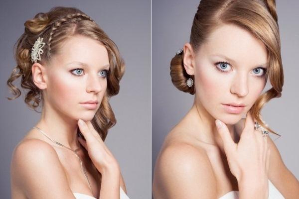 Não é difícil adaptar penteados, criando novos modelos. (Foto: divulgação)