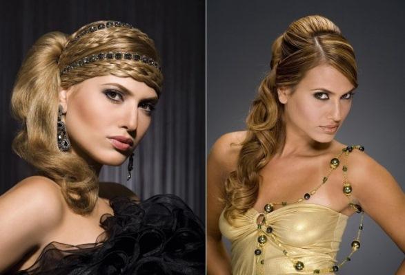 O penteado é determinante no sucesso do look. (Foto: divulgação)