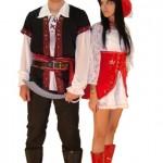 Casal pirata. (Foto:Divulgação)