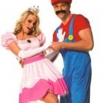 Mario Bross e Princesa. (Foto:Divulgação)