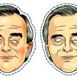 Máscara de Nestor Cerveró. (Foto: Divulgação)