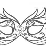 Molde de máscara feminina. (Foto:Divulgação)