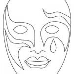 Máscara de Pierrot. (Foto:Divulgação)