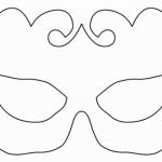 O molde pode ser feito com cartolina ou acetato. (Foto:Divulgação)