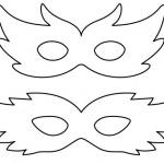 A máscara pode ser mais simples ou sofisticada. (Foto:Divulgação)
