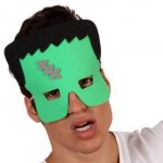 Máscara feita de eva.(Foto:Divulgação)