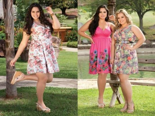 As estampas dos vestidos para gordinhas são a cara do verão (Foto: Divulgação)