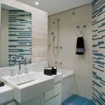 As pastilhas podem decorar um banheiro (Foto: Divulgação)